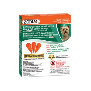 Zodiac SS Powerspot Dog Under 30lb Refill