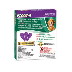 Zodiac SS Powerspot Dog Over 30lb Refill