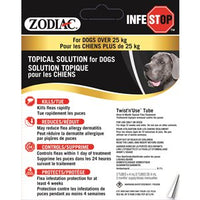 Zodiac Infestop Topical Flea Adulticide for Dogs Over 25KG