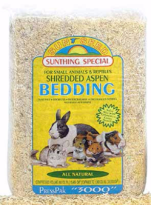 Sunseed Aspen Bedding