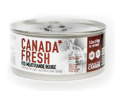 Canada Fresh Cat Food Red Meat