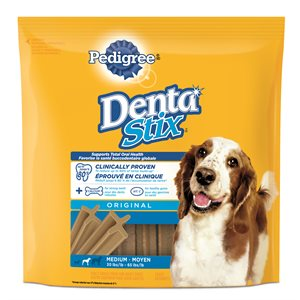 Pedigree DentaStix Original Flavor Medium 12 Count 292g