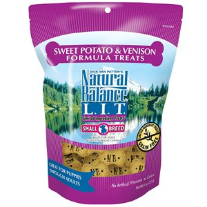 Natural Balance Dog LIT Sweet Potato & Venison Small Treats 8oz