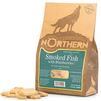 Northern Wheat Free Smoked Fish with Blueberries Dog Treats