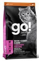 GO! SOLUTIONS Skin + Coat Care Chicken Recipe for Cats