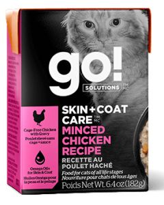 Go Skin and Coat Minced Chicken Cat 6.4OZ