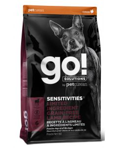 Go Sensitivities LID Grain Free Lamb Dog 22LB