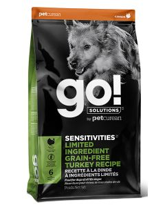 Go Sensitivities LID Grain Free Turkey  Dog 12LB