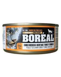 Boreal Cobb Chicken and Heritage Turkey Cat 156G