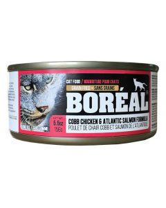 Boreal Cobb Chicken and Atlantic Salmon Cat 156G