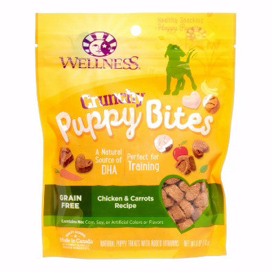 Wellness ® Just for Puppy™ Grain Free Crunchy Chicken and Carrots Puppy Bites