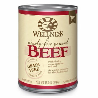 Wellness ® Ninety-Five Percent Beef (95%) Wet Dog Mixer or Topper