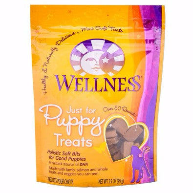 Wellness ® Just for Puppy™ Soft Lamb, Salmon, Fruit, and Veggie Treats