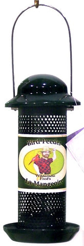 "10"" Finch Feeder w/tray"