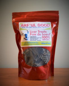 Arful Good Beef Liver Treats