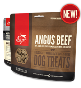 Orijen Ranch-Raised Beef Dog Treats