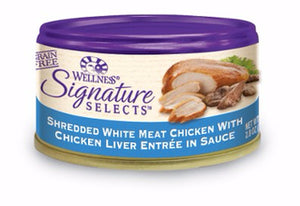 Wellness ® Core Signature Selects™ Grain Free Shredded Chicken and Chicken Liver