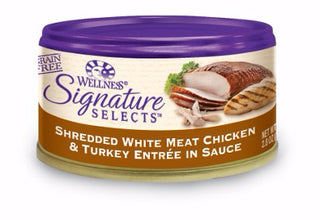 Wellness ® Core Signature Selects™ Grain Free Shredded Chicken and Turkey
