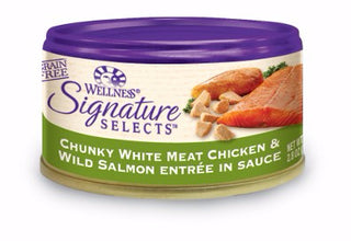 Wellness ® Core Signature Selects™ Grain Free Chunky Chicken and Salmon