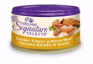 Wellness ® Core Signature Selects™ Grain Free Chunky Turkey and Chicken