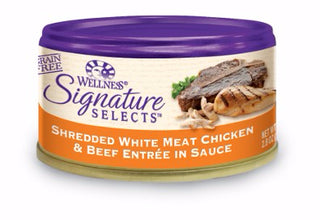 Wellness ® Core Signature Selects™ Grain Free Shredded Chicken and Beef