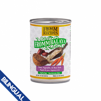 FROMM® FROMMBALAYA™ PORK, VEGETABLE, & RICE STEW WET DOG FOOD 12.5 OZ