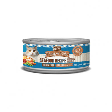 MERRICK® PURRFECT BISTRO® GRILLED MIXED SEAFOOD RECIPE WET CAT FOOD