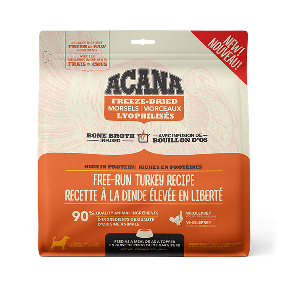 Freeze-Dried Food - Free-Run Turkey Recipe