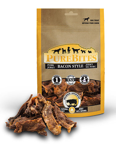 Purebites Bacon Jerky