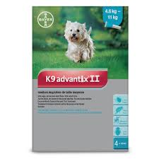 K9 Advantix II Medium Dog 4.6-11KG