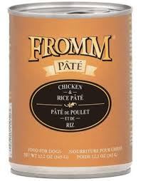 Fromm Grain Free Chicken & Rice Pâté Wet Dog Food
