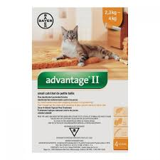 Advantage II Small Cat 2.3-4KG