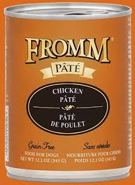 Fromm Gold Grain Free Chicken Pâté Wet Dog Food