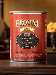 Fromm Grain Free Turkey & Pumpkin Pâté Wet Dog Food