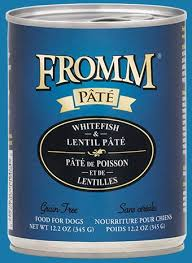 Fromm © Gold Grain Free Whitefish & Lentil Pâté Wet Dog Food