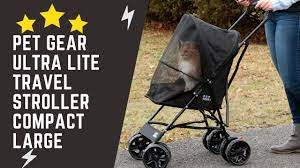 Pet Gear Pet Stroller Lite Black