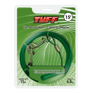 Tie-Out TUFF 15 Cable - Tiny