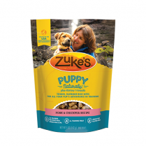 ZUKE'S® PUPPY NATURALS® PORK & CHICKPEA RECIPE DOG TREAT 5 OZ