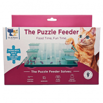 SPOT® DOC & PHOEBE™ THE PUZZLE FEEDER FOR CATS