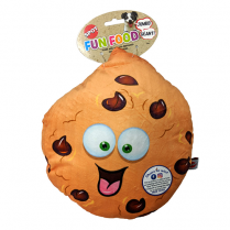 "SPOT® FUN FOOD JUMBO COOKIE 11"" PLUSH DOG TOY"