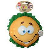 "SPOT® FUN FOOD JUMBO HAMBURGER 11"" PLUSH DOG TOY"