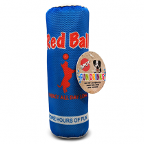 SPOT® FUN DRINK RED BALL DOG TOY
