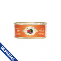 FROMM® FOUR STAR NUTRITIONALS® CHICKEN & SALMON PÂTÉ WET CAT FOOD 5.5 OZ