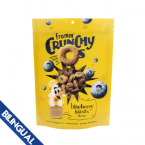 FROMM® CRUNCHY O'S BLUEBERRY BLASTS TREATS FOR DOGS 6 OZ