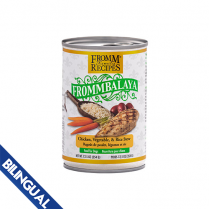 FROMM® FROMMBALAYA™ CHICKEN, VEGETABLE, & RICE STEW WET DOG FOOD 12.5oz