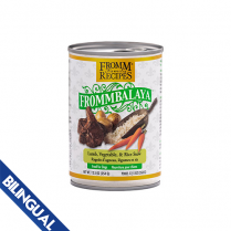 FROMM® FROMMBALAYA™ LAMB, VEGETABLE, & RICE STEW WET DOG FOOD 12.5oz