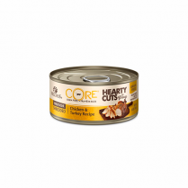 WELLNESS® CORE® HEARTY CUTS INDOOR CHICKEN 7 TURKEY RECIPE WET CAT FOOD 5.5 OZ