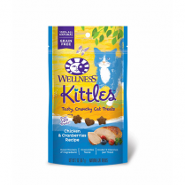 WELLNESS® KITTLES™ CHICKEN & CRANBERRIES CAT TREAT 2 OZ