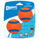 CHUCKIT!® ULTRA BALL MEDIUM (2 PACK) DOG TOY