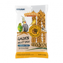 SUNSEED® GOLDEN MILLET SPRAY NATURAL TREAT 7 OZ BAG